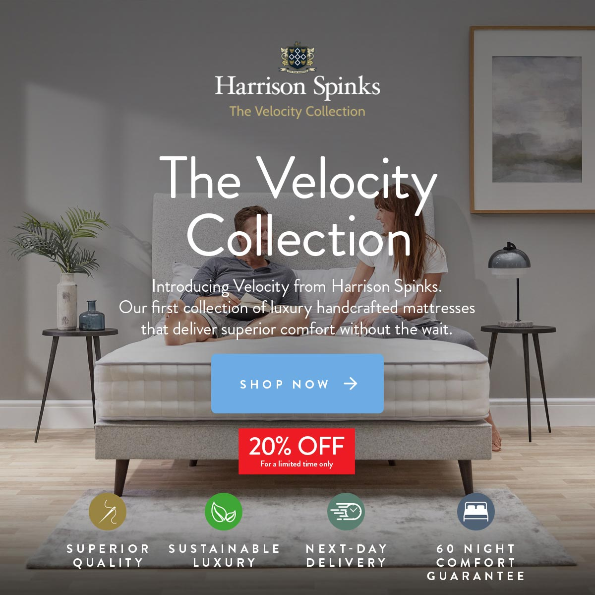 Barrow Clark Furnishers - Harrison Velocity Collection